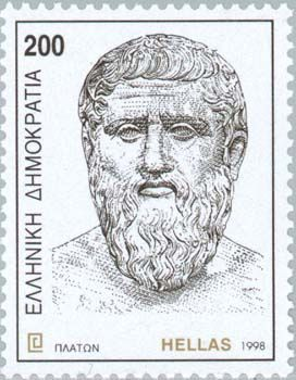 Plato Postage Stamp from Greece