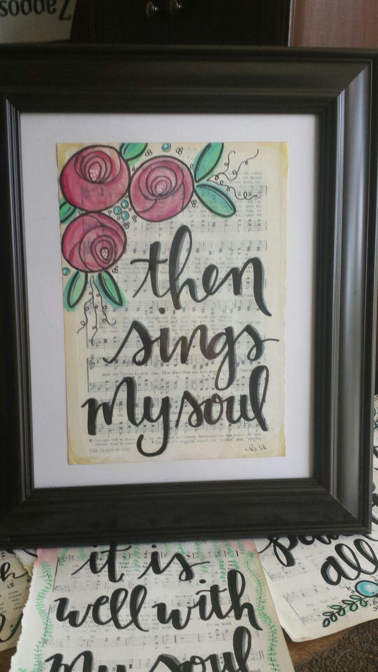 Hymnal art. @veazeygirl