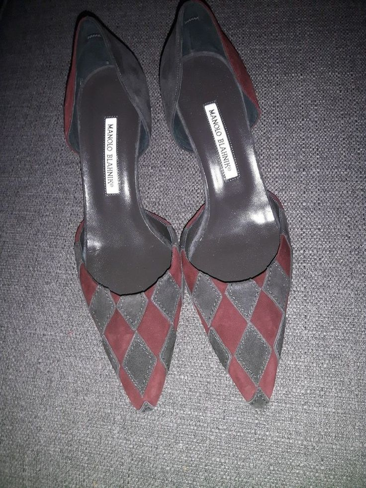 Manolo Blahnik D'orsay Pumps Size 40.5 | Clothing, Shoes & Accessories, Women's Shoes, Heels | eBay!