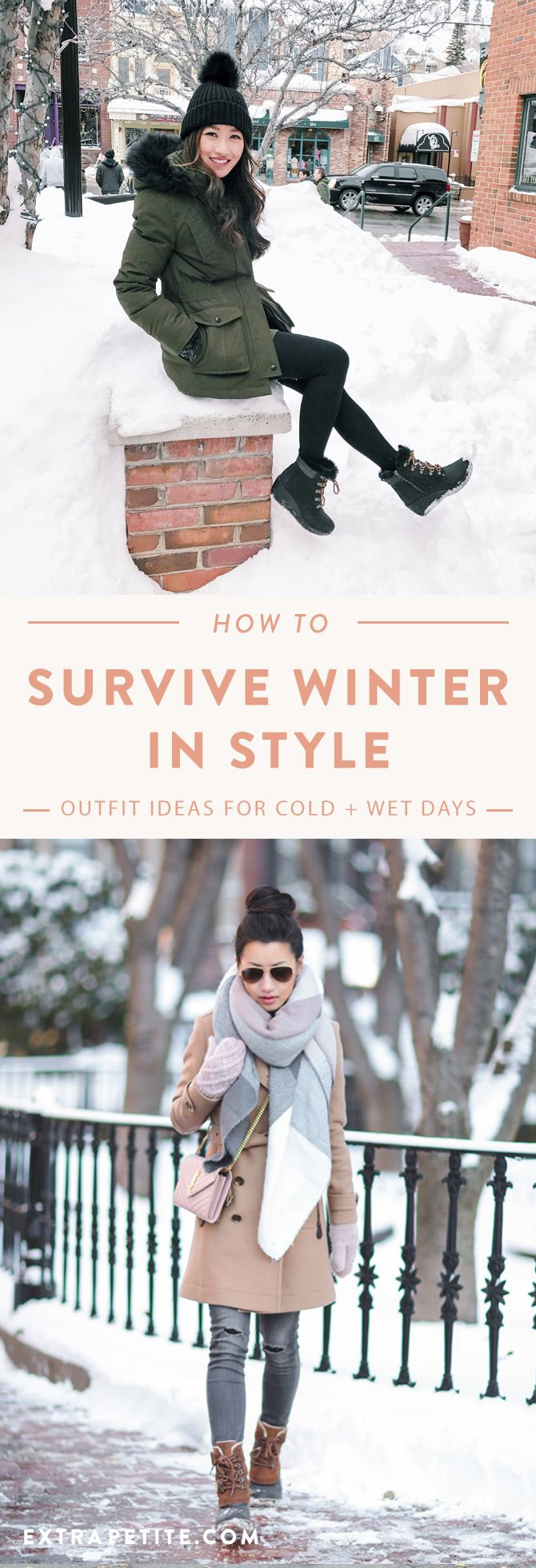 How to Survive Winter in Style // Winter Boot Outfits