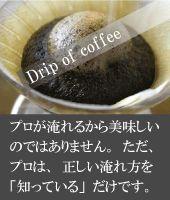 ペーパーフィルターを使用した、プロが勧めるコーヒーの正しい淹れ方。