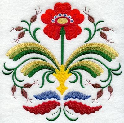 Swedish folk design