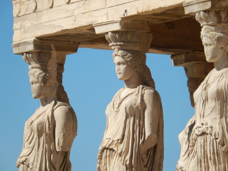 Athena's home--Athens' acropolis shines on clear days.