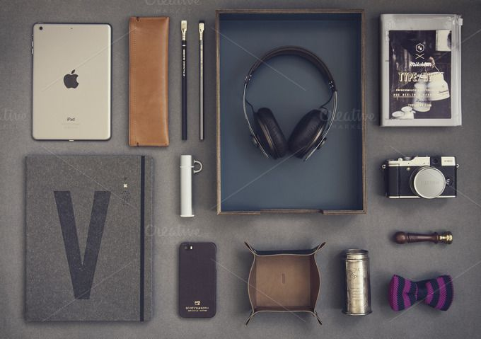 Check out Hipster set 02 by Madebyvadim on Creative Market