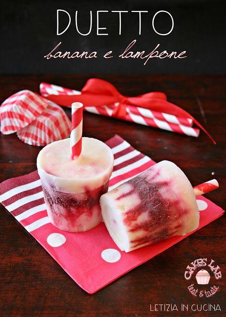 Letizia in Cucina: Duetto di Banana e Lampone - Cakes Lab