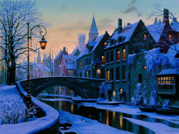 Brugge Belgium...yes, this is a real place. I would love to go back in winter!