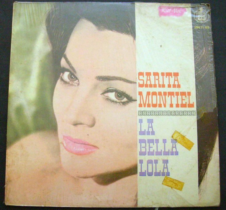 SARITA MONTIEL LA BELLA LOLA Spain Press #LatinPop