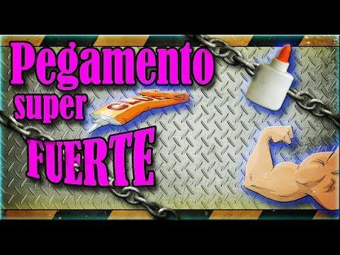 ◀︎▶︎Como hacer un Pegamento SUPER FUERTE ▶︎▶︎casi◀︎◀︎ imposible de quitar◀︎▶︎ - YouTube