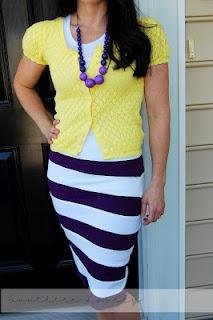 cute purple and white skirt: Skirts Tutorials, Diy Sewing, Diy Stripes, Sewing Skirts, Stripes Skirts, Diy Skirts, Striped Skirts, Easy Sewing, Style Ideas