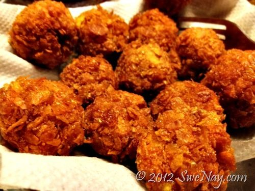 Homemade Crunchy Chicken Balls - I Like! | Yumminess!!! | Pinterest