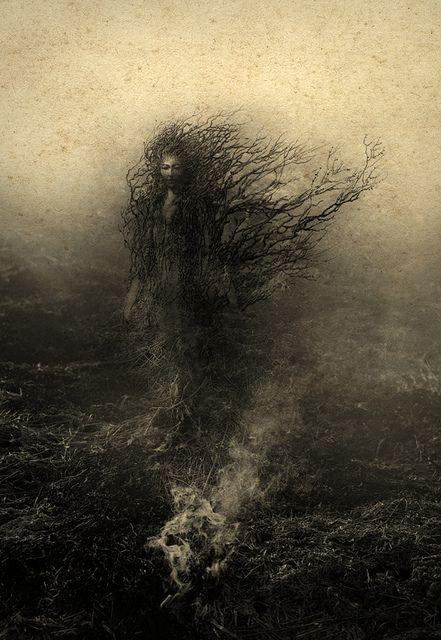 """""""dryad"""" - yaroslav gerzhedovich, 2011 (mixed media)"""