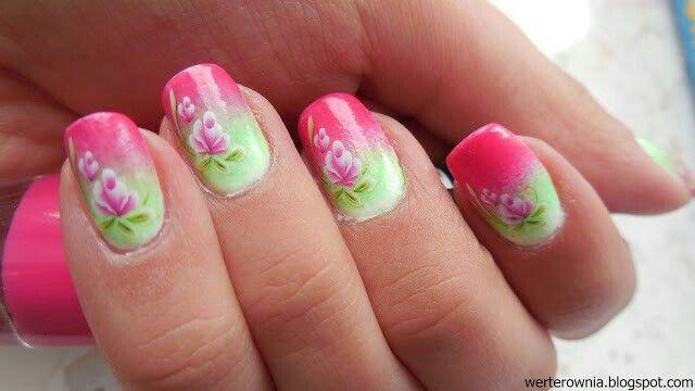 #Werterownia #paznokcie #nails #kwiaty #flowers