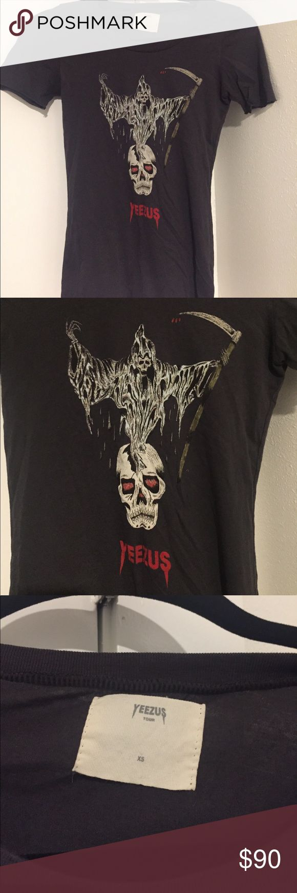 Authentic Kanye West Yeezus Merch Authentic women's kanye west merchandise from Yeezus tour, resale of any kanye west merch is usually atleast 150 per shirt, good condition Kanye West Merch Tops Tees - Short Sleeve
