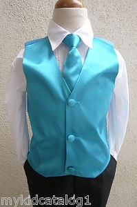 "turqious - toddler tuxedo for our lil stud muffin...not sure what our colors are yet, I love black and aqua/turquoise or ""Tiffany blue"" ...still deciding..."