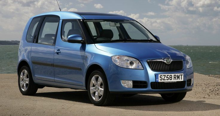 Skoda Roomster Skoda Roomster 1600 cc injection    4 Personen grosse Koffer 2  5 doors  air conditioned  manual gearbox  radio cd