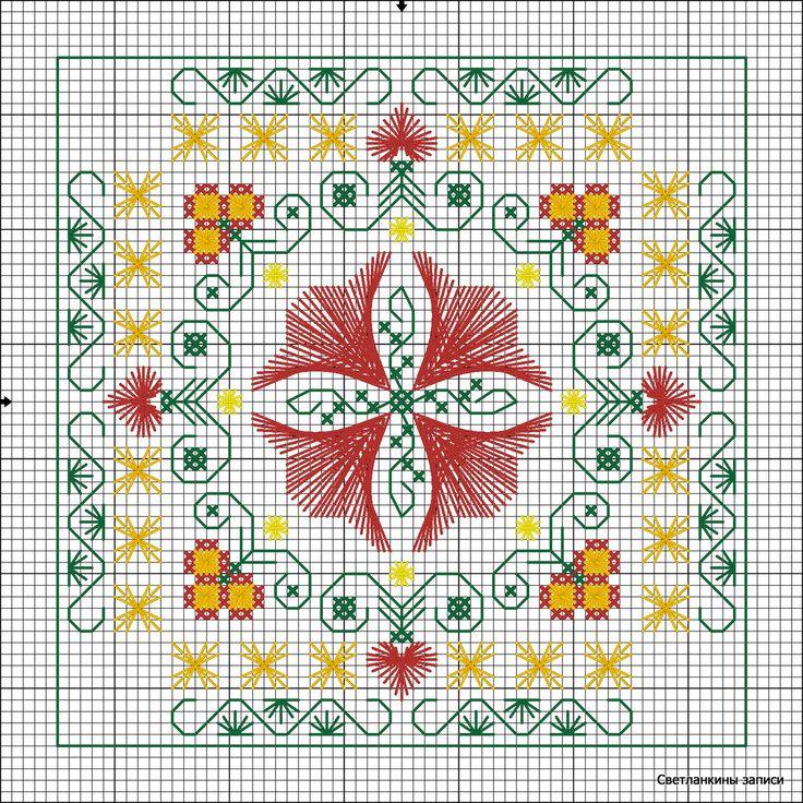 Светланкины записи: вышивка. Needs Translate! Beautiful Stitching. Link is good. jwt