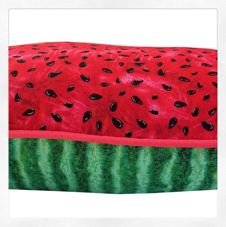 A personal favourite from my Etsy shop https://www.etsy.com/au/listing/256554323/fun-watermelon-cushion-pillow