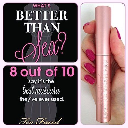 GIVEAWAY: B/A Photos, Review - Too Faced Better Than Sex Mascara #bstat