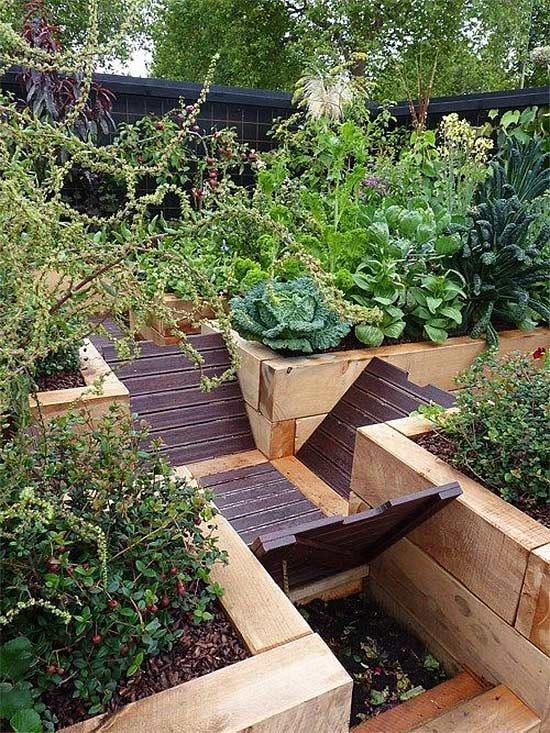 6 compost bins that aren 39 t eyesores gardens beautiful for Beautiful raised gardens