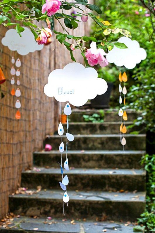 nuages plan de table