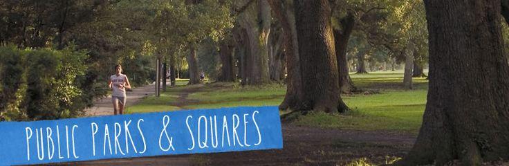 New Orleans Parks & Squares