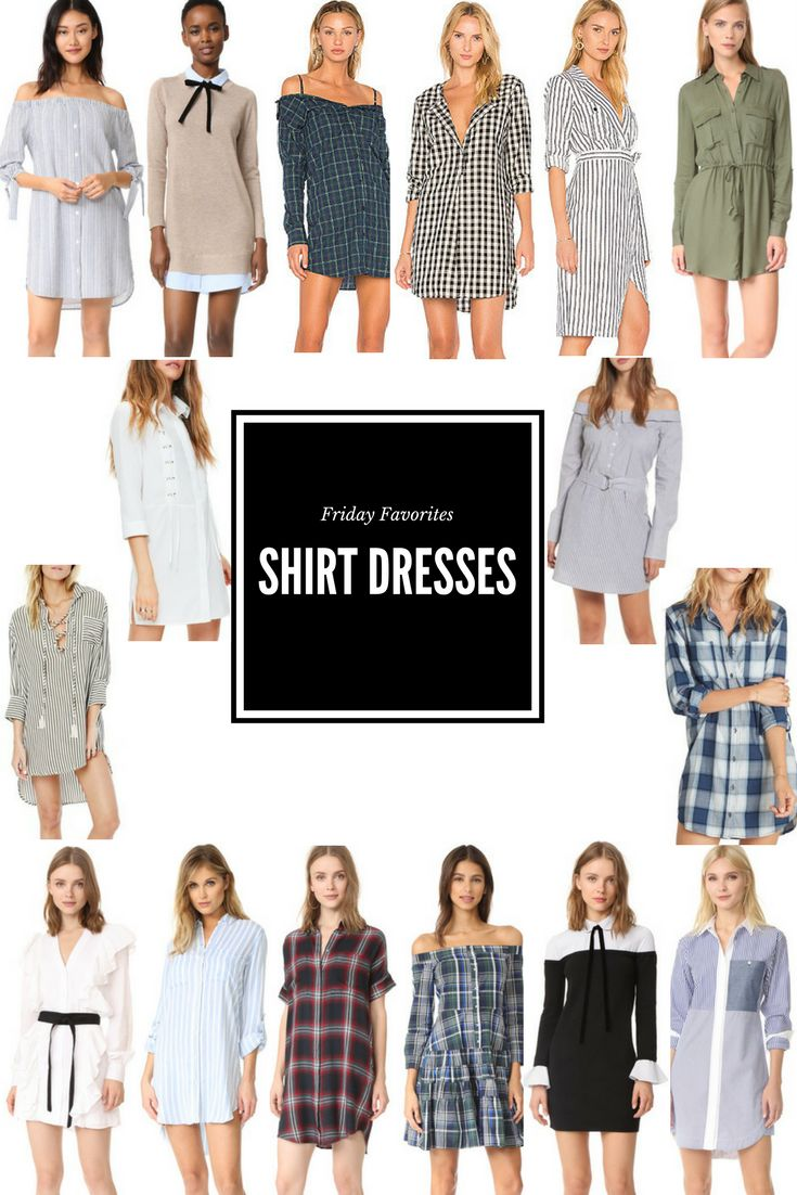 Friday Favorites: Shirt Dresses For Fall - A Lo Profile