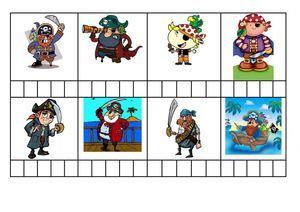 Bingo i comprensió: Els pirates