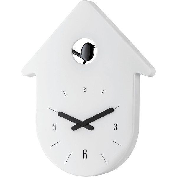 Koziol Toc-Toc Wall Clock found on Polyvore