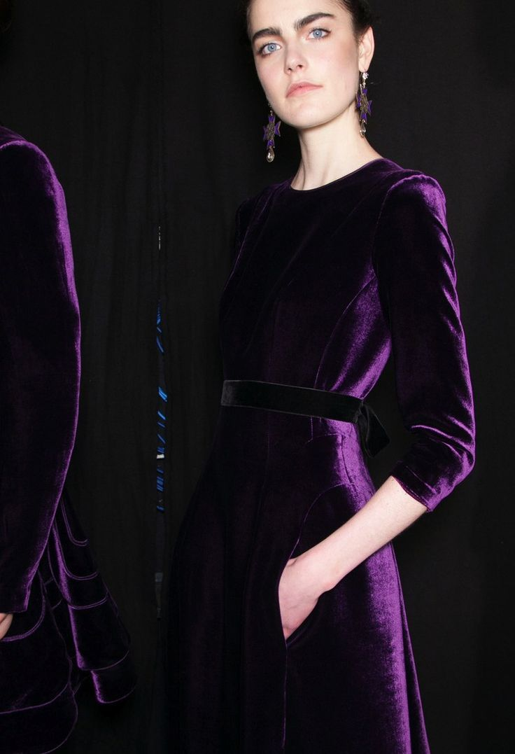 17 Best ideas about Purple Velvet Dress on Pinterest | Velvet gown ...
