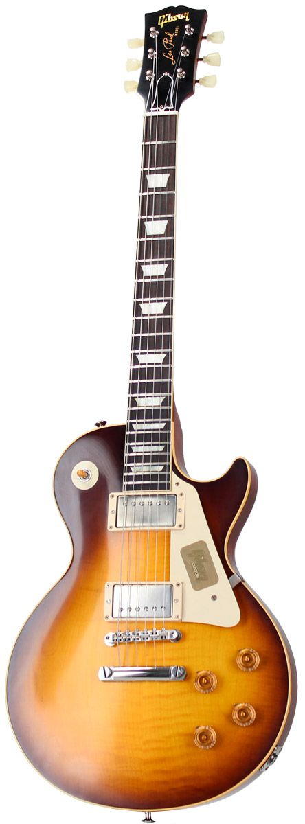Gibson Les Paul 59 Joe Perry Vos Faded Tobacco Burst