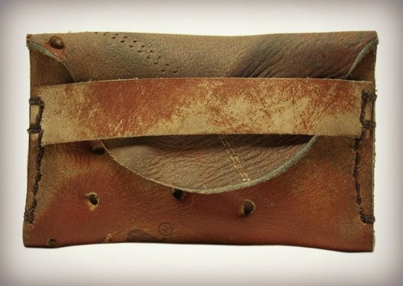 From:  Cool Material;  Vintage Leather Glove Wallets