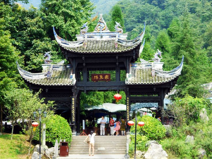 Czasami trzeba gdzieś naładować baterie w Chinach z dala od smogu i syfu. Góra Qingcheng położona niedaleko Chengdu jest idealną miejscówką na odpoczynek.