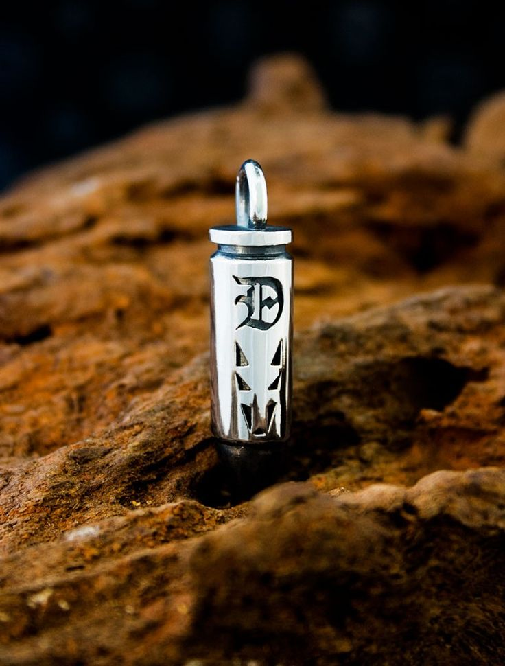 Dogstone London - Sterling Silver Signature Magnum 44 Bullet Pendant, £190.00 (http://www.dogstonelondon.com/products/signature-magnum-bullet-pendant.html)