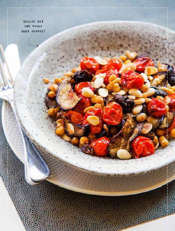 Recept van de week: Marokkaanse geroosterde kikkererwtenschotel