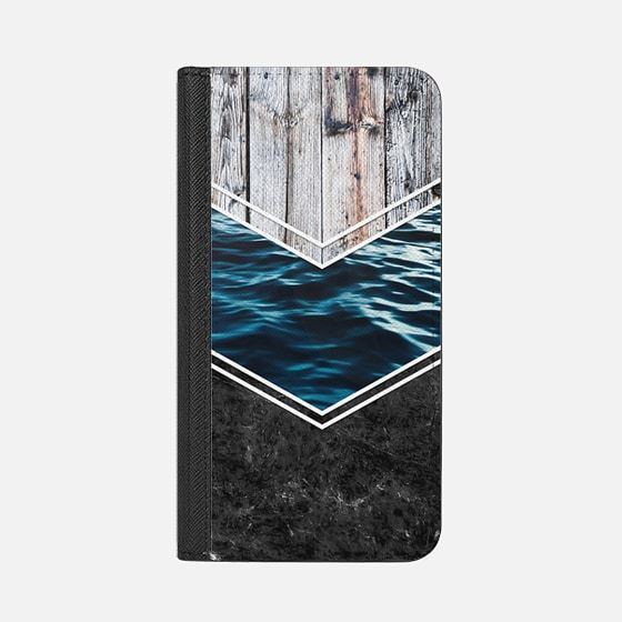 Striped Materials of Nature IV - Wallet Case