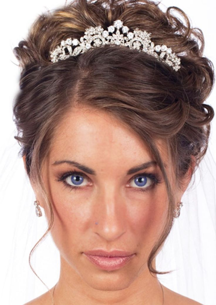 Hairstyles For Wedding 6 romantic wedding hairstyles that will make him fall in love all over again Best 25 Tiara Hairstyles Ideas On Pinterest Wedding Tiara Hairstyles Wedding Tiara Hair And Bridal Hair Tiara