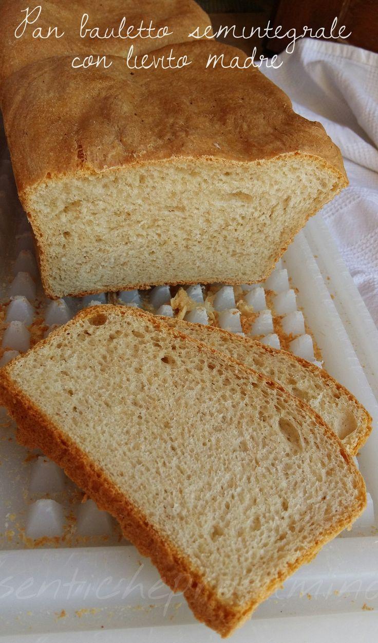 Pan bauletto semintegrale con lievito madre