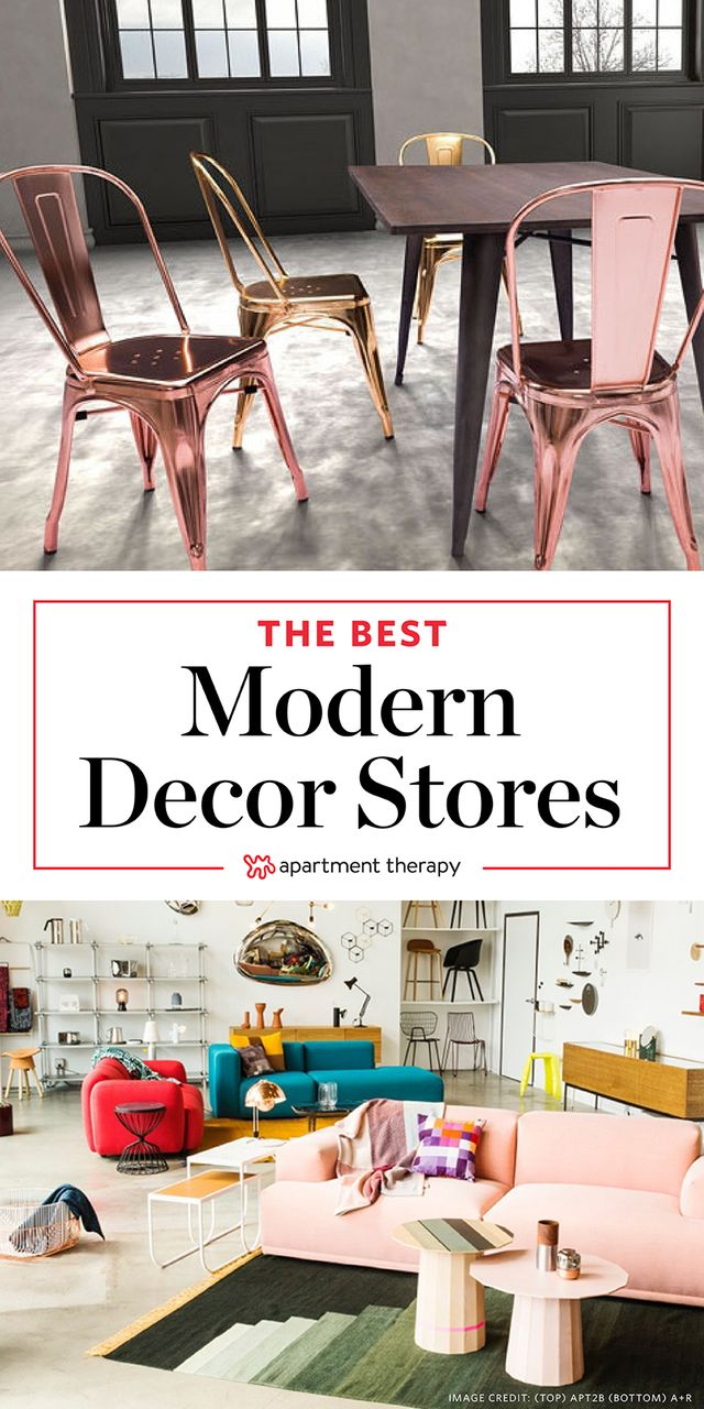 10 Modern Home Decor Stores That Arenu0027t