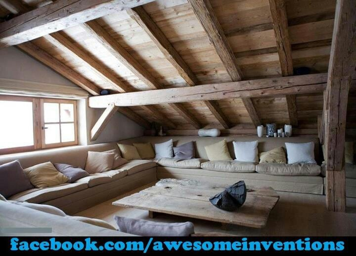 Attic makeover & 28 best Attic makeover images on Pinterest | Attic loft Attic ...