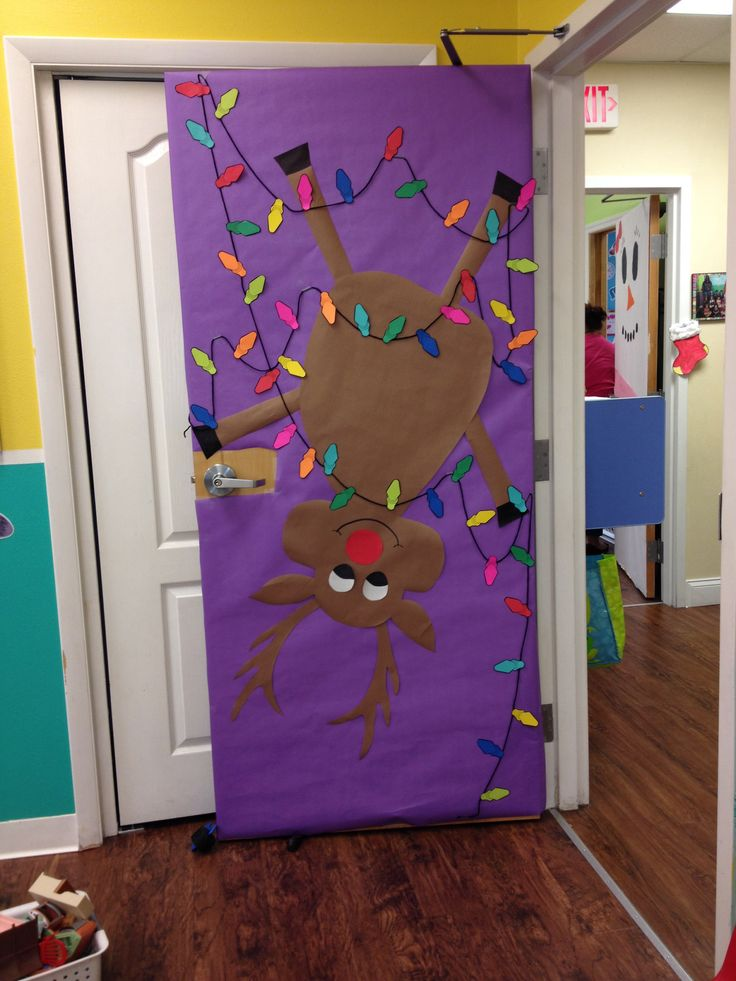 Preschool Classroom Decoration For Christmas : Preschool door christmas classroom