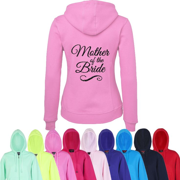 Bride & Bridal Party Printed Hoodie