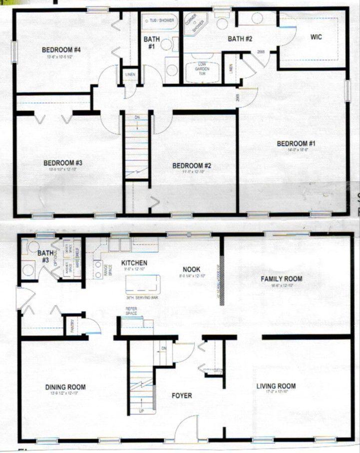 2 Story Home Plans Two Story House Plans Barndominium Floor Plans Pole Barn House Plans