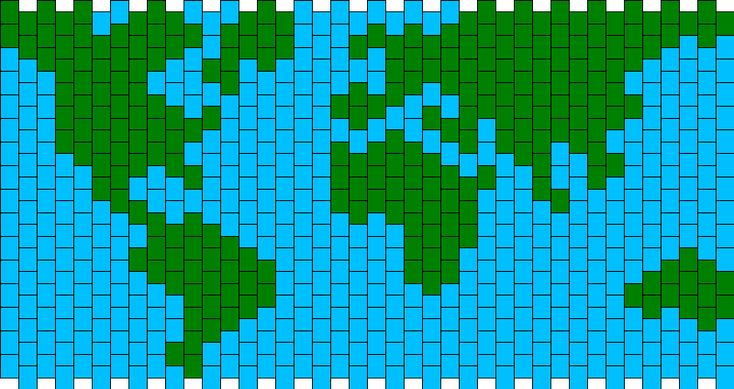 Our Planet Earth Kandi Pattern