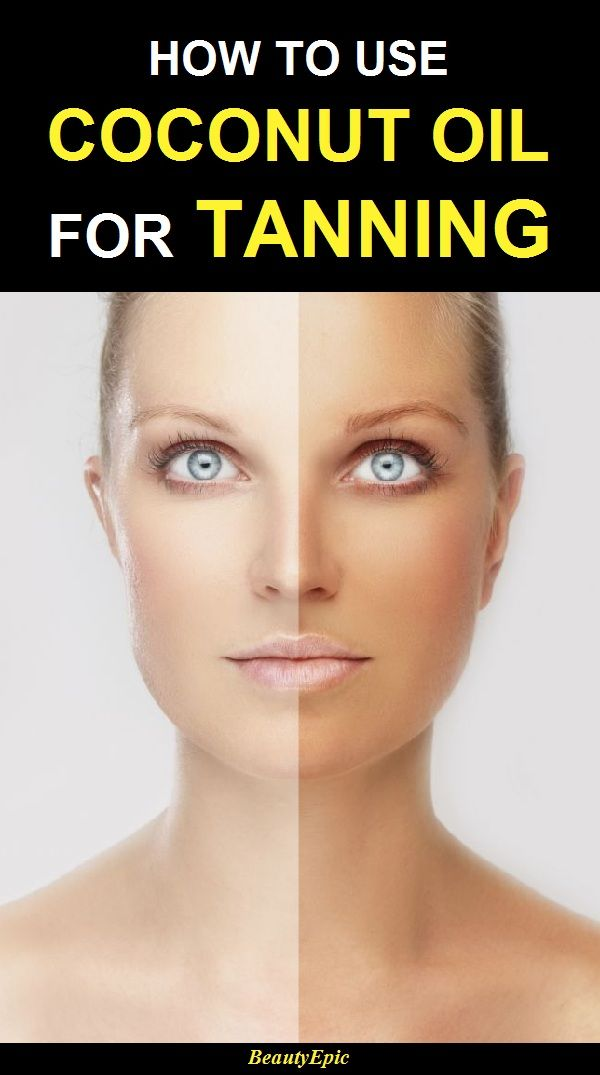 Coconut Oil for Tanning – How To Use It The Right Way?