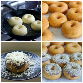Indonesian Medan Food: Donat Kampung (Old Fashion Doughnut)