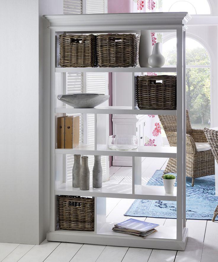 Room divider bookcase shelf