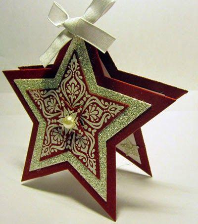 Crafty Maria's Stamping World: Bright & Beautiful Star Card