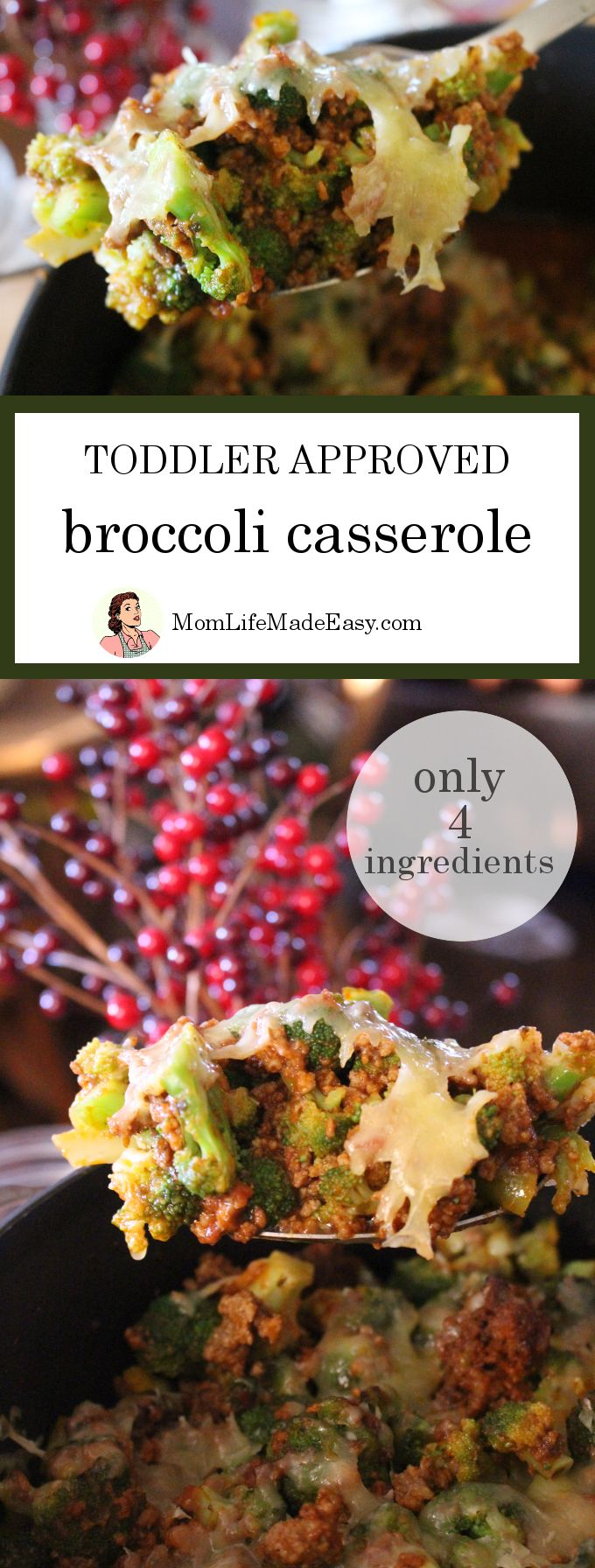 Toddler Approved Broccoli Casserole