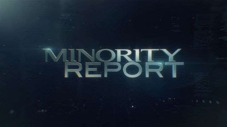 Minority Report Main Titles