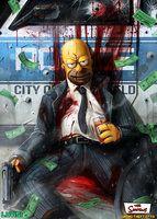 Hitman Homer, DanLuVisiArt Full Gallery: http://danluvisiart.deviantart.com/